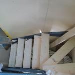 藤岡H邸階段