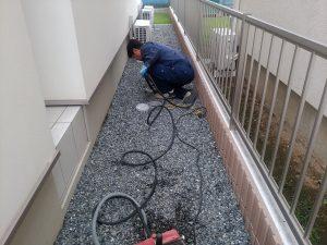洗浄作業 (1)